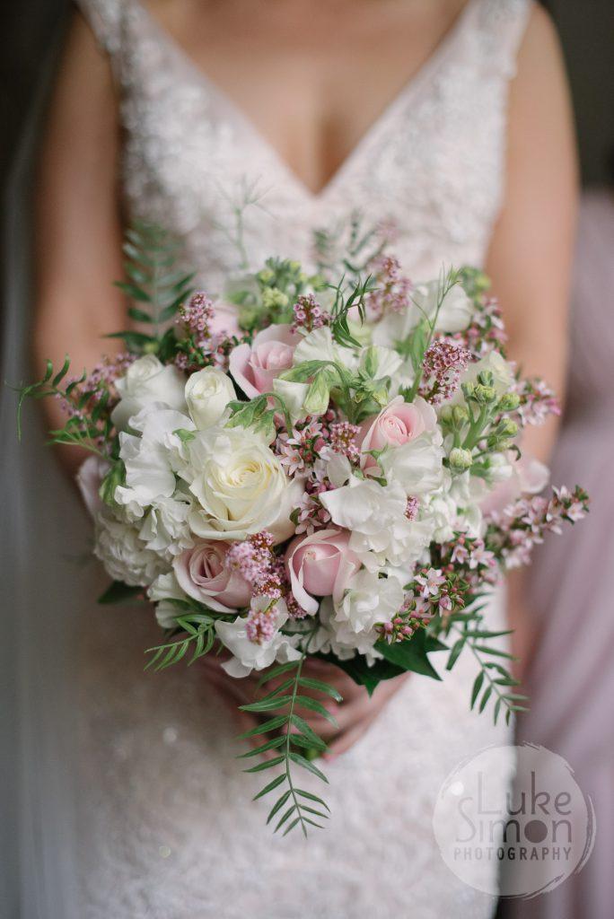 garden posy bouquet