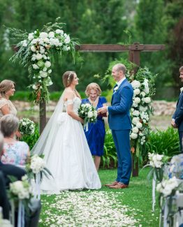GARDEN Ceremony Arch. Image by Jade Norwood.